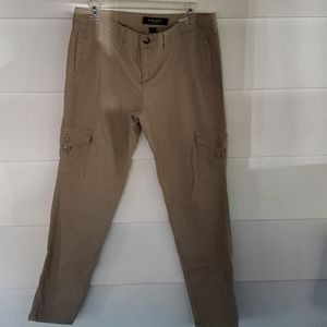 Khaki crop pants nine west sz 8 ladies